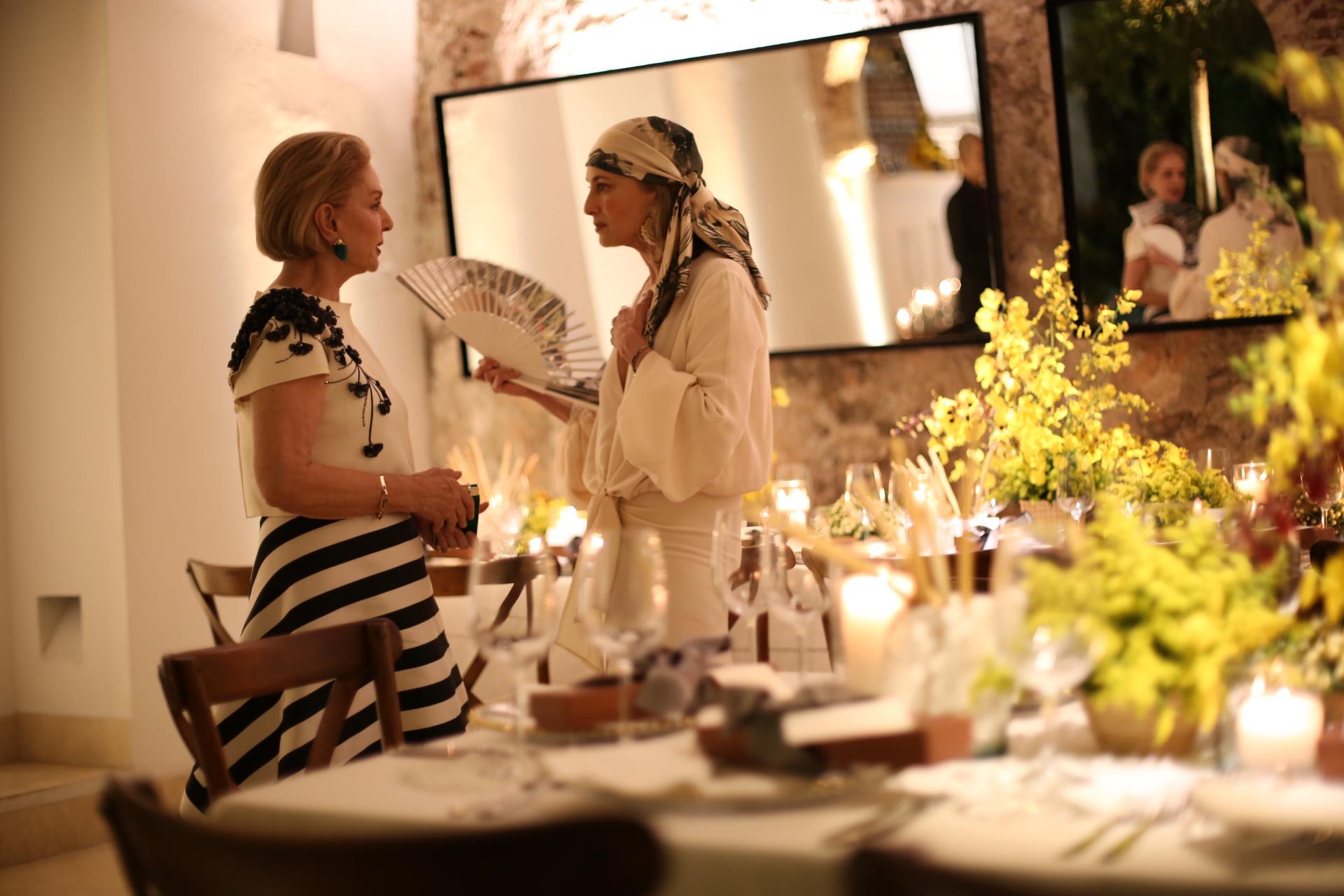 Carolina Herrera y Silvia Tcherassi en LAFS segunda edición